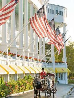 The Grand Hotel Mackinac island, MI
