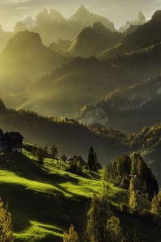 Switzerland mountains by Robin Halioua