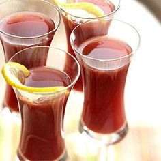Mulled Cranberry Punch, Plus More Party Drink Recipes