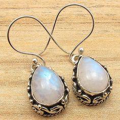 Terrific Labradorite Crystal Gemstone Handmade Jewelry Earrings Pendant Set Pure Whiteness Fine Jewelry Sets Jewelry & Watches
