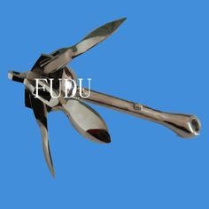 4kg(8.8lb) Stainless Steel Foliding Grapnel Anchor For Marine Yacht