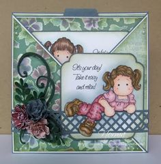 From My Craft Room: It's your day! - Guest DT Criss Cross Card