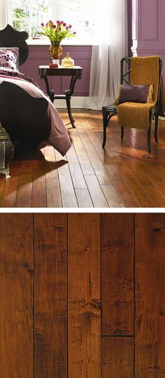 Millstead Hand Scraped Maple Spice 1 2 In Thick X 5 Wide Random Length Engineered Hardwood Flooring 31 Sq Ft Case