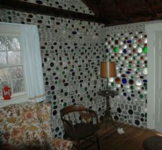 We will have bottle walls... oh yes... we will. Check out this site, it has the greatest collection of bottle walls I've ever seen in one place... with stories too!