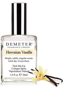 Demeter Hawaiian Vanilla Cologne Spray Womens Perfume for sale online Perfume Glamour, Perfume Hermes, Perfume Versace, Perfume Good Girl, Best Perfume, Perfume Scents, Perfume Bottles, Perfume Lady Million, Essential Oils