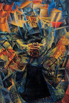 Umberto Boccioni – 'Materia' – 1912 ( portrait of his mother ) Peggy Guggenheim Collection, Venice Umberto Boccioni, Italian Futurism, Futurism Art, Peggy Guggenheim, Italian Painters, Italian Artist, Oil Painting Reproductions, Vintage Artwork, A4 Poster