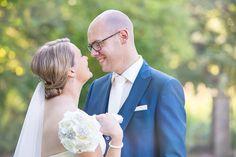 Romantische bruidsfoto