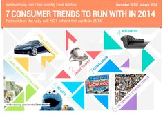 trendwatching.com's 7 CONSUMER TRENDS TO RUN WITH IN 2014 by trendwatching.com via slideshare