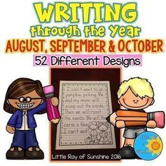 Make writing fun and enjoyable for your students by having them write their masterpieces on theme inspired writing paper.  This set includes 52 different designs and you have the choice of three line sizes: 1 inch,  inch and  inch for each design! Students will love writing their final products on this fun paper and will be proud to show their efforts.