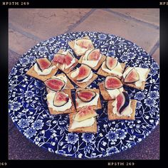 Marscapone-Maple-Fig crackers