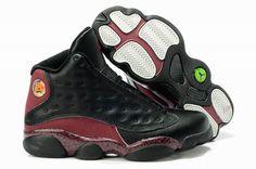 the best attitude 7ae47 0c6df Nike Air Jordan 13 Retro Black Red White Shoes Jordan 13 Black, Nike Jordan  13