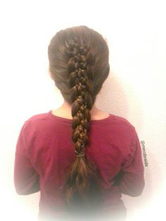 5strand braid with microbraids