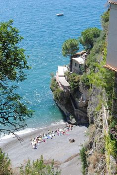 Amalfi coast , Italy ~ My dream is to one day return to the Amalfi coast and settle in for about six months!