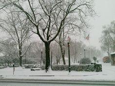 Beautiful winter scene from Lancaster PA