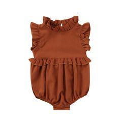 0b435cf0ee3 Baby Girl Sleeveless Ruffle Romper Bloomer For Infant   Toddler