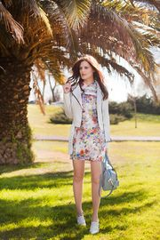 Floral dress by Tie Bow-tie
