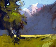 Glenorchy NZ, Original Pastel Painting from New Zealand