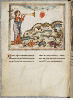 Apocalypsis cum figuris  Date d'édition : 1275-1300