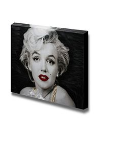 "Canvas Prints Wall Art - Marilyn Monroe Classic Photo | Modern Wall Decor/ Home Decoration Stretched Gallery Canvas Wrap Giclee Print & Ready to Hang - 36"" x 48"" Pro USA Print http://www.amazon.com/dp/B00Y4C5E5G/ref=cm_sw_r_pi_dp_dcK1vb0ACYAYB"