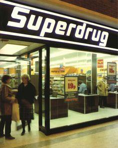 Superdrug in the 1980s #PINSuperdrug50