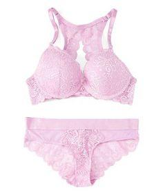 Look what I found on Mauve Mist Lace Racerback Bra & Bikini Mauve, Mists, Boards, Lingerie, Bikinis, Clothes, Beauty, Fashion, Moda