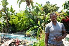 "Ron Finley: The ""Gangster Gardner"".....he plants food and gardens in vacant lots in South Central L.A..........  THERE IS NO WAY YOU CAN HEAR HIS STORY AND NOT BE INSPIRED!!!!"