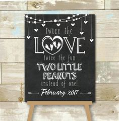 Personalized Twin Pregnancy Announcement by CherryImprintDesign - Baby Announcement - Pregnancy Gifts First Time Pregnancy, Ivf Pregnancy, Pregnancy Must Haves, Pregnancy Gifts, Pregnancy Quotes, Getting Pregnant With Twins, Expecting Twins, Pregnant Diet, Twin Baby Announcements