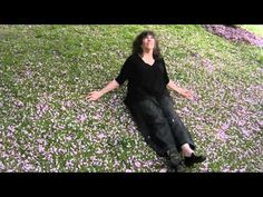 Meditate beneath cherry blossoms with Priscilla Warner, author of Learning to Breathe - My Yearlong Quest to Bring Calm to My Life