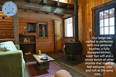 Heritage Cabin is one of 4 private luxury cabins at Logden Lodge Luxury Cabin, Cabins, Cosy, Rustic, Nice, Design, Country Primitive, Retro
