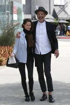 Jeff Goldblum & Emilie Livingston