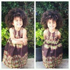 African prints in children's fashion