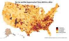 Food Deserts: An Interactive Map of the Places in America Farthest From a Supermarket
