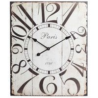 Joss and Main-CLOCK HACK, pallet cut to size, paint, sand paper and clock  hands