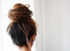 best bun... now if only i could get mine to look like this!
