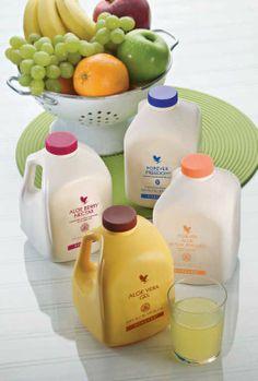 Forever Living aloe vera based drinks!