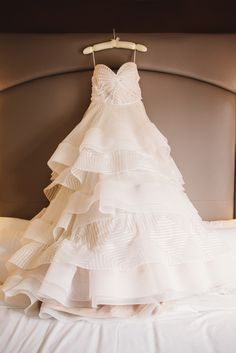Geometric Hayley Paige Bridal Ball Gown