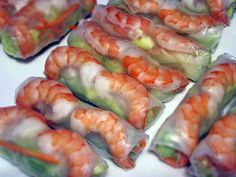 "spring foods | Quick and Easy Vietnamese Spring Rolls, ""Goi Cuon"" 