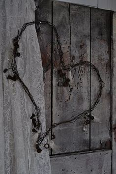 Barbed wire hearts                                                                                                                                                                                 More