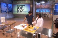 """Dr. Oz's """"Naturally Whiten Teeth, Pt. 2"""" Video.  Learn what foods/drinks yellow your teeth, and which ones help to whiten them, as well as Dr. Oz's lemon & baking soda mixture for whitening at home."""
