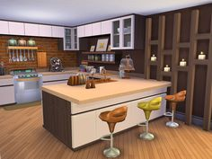 Collinsville is a family home built on a 30 x 20 lot in Newcrest. Found in TSR Category 'Sims 4 Residential Lots'