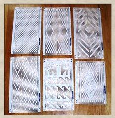 Machine Knitting and Patterns on Pinterest Knitting Machine, Knitting and F...