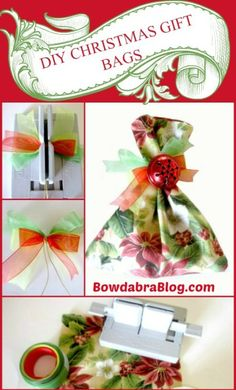 Diy Christmas Gifts wrapping tutorial
