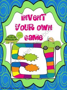 Invent Your Own Game - Correlates With Any Subject Area from Sweet Integrations...With a Taste of Technology on TeachersNotebook.com (11 pages)