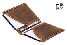 Luxury RFID Wallet Minimalist Slim Wallet / Card Holder /