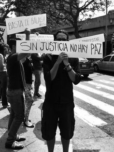There is no peace without justice.  #Venezuela #SOSvenezuela