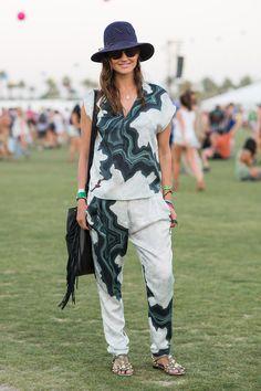 The Best Coachella Street Style  - ELLE.com