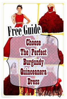 Ideas for Locating the Perfect Burgundy Quinceanera Dress. The most vital element of a quinceanera for a girl is her dress! Burgundy Quinceanera Dresses, Our Girl, Fashion Show, How To Memorize Things, Princess, Party, Ideas, Parties, Thoughts