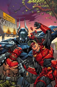 batman vs arsenal - Buscar con Google
