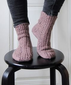 Knit a Pair of Girl Friday Socks, Makes a Great Gift and the Pattern is FREE! | KnitHacker
