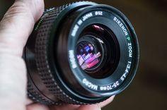 PENTAX K mount fit RICOH RIKENON P 35-70 mm F3.5-4.5 MACRO lens FREE BODY & GRIP #ricoh